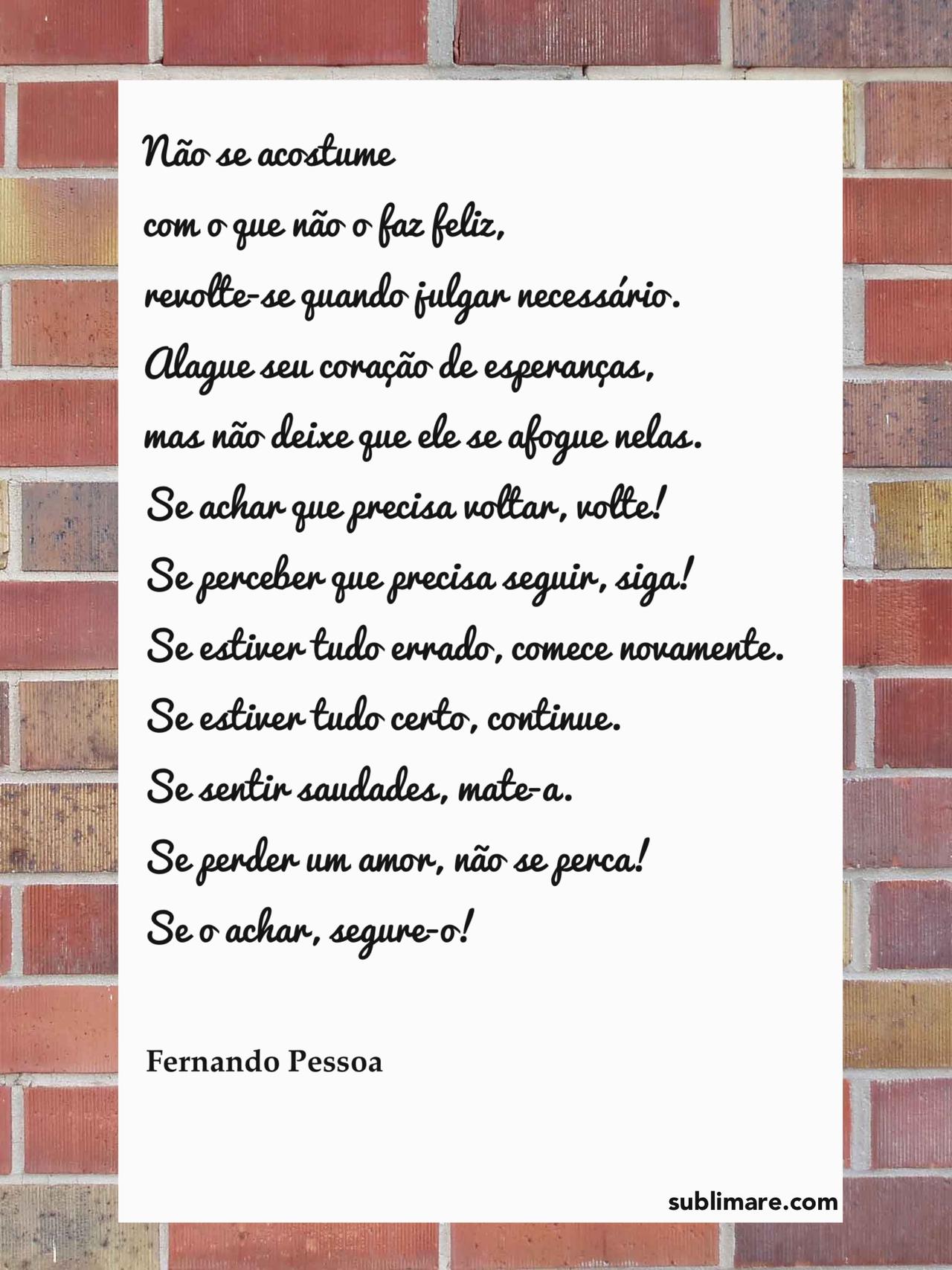 poema da felicidade - fernando pessoa