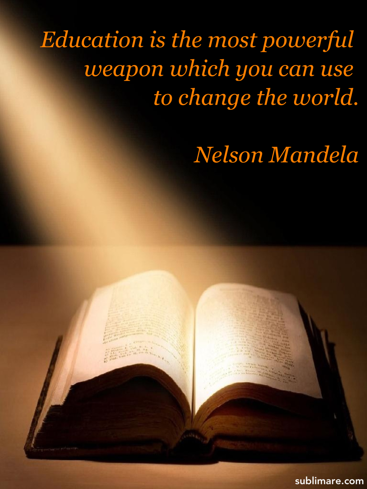 Education by Mandela