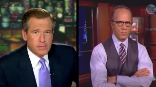 "Brian Williams Raps ""Rapper's Delight"""
