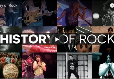 The History of Rock'n'Roll in One Mashup